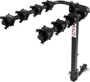 """Find 4 BIKE SWING DOWN CARRIER RACK-BICYCLE RACKS-1-1/4"""" & 2"""" HITCH (CL-BC-7806-4J) motorcycle in West Bend, Wisconsin, US, for US $77.20"""