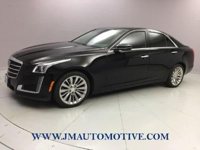 2016 Cadillac CTS 4dr Sdn 2.0L Turbo Luxury Coll (Black Raven)
