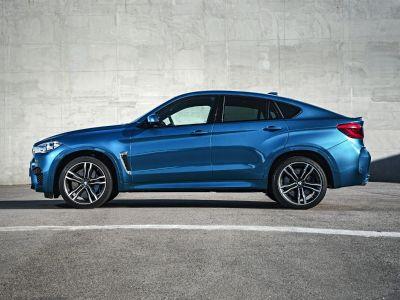 2016 BMW X6 M Base (Long Beach Blue Metallic)