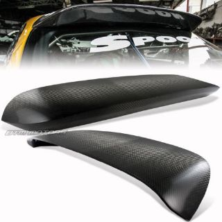 Buy Spoon Style Carbon Fiber Rear Roof Spoiler For 96-00 Honda Civic 3Dr/Hatchback motorcycle in Rowland Heights, California, United States
