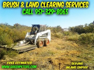 Brush & Land Clearing, Mowing, Weed Abatement