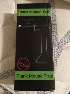 New plank mouse/rat/rodent trap - no kill