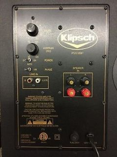 Klipsch powered sub.