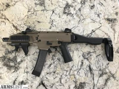 For Sale/Trade: CZ Scorpion Evo 3 with extras