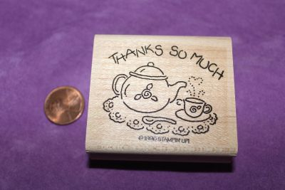 Stampin' Up! Wooden Rubber Stamp: Thanks So Much