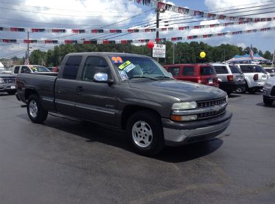 1999 Chevrolet Silverado 1500 Base (Grey)