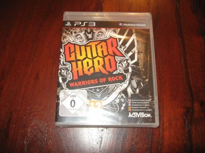 Guitar Hero Warriors of Rock for PS3