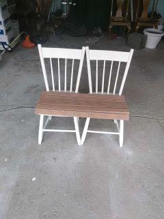 Retro Kitchen chairs bench