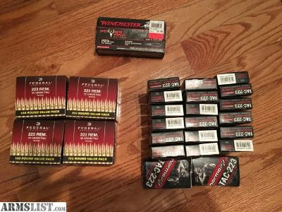For Sale: .223 ammo for sale