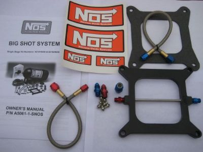 Purchase NOS/NITROUS/NX/ZEX/EDELBROCK/ NOS BIGSHOT HOLLEY 4150 PLATE KIT 175-400HP-NEW! motorcycle in North Attleboro, Massachusetts, United States, for US $115.69