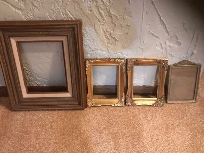 Lot of ornate Picture Frames