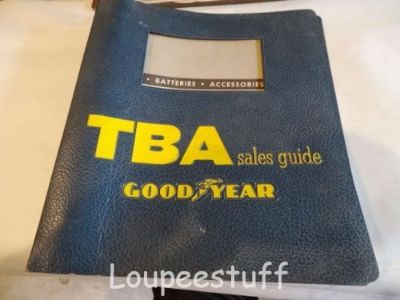 Sell 1957 GOODYEAR TBA SALES GUIDE ALL MAKES FORD MOPAR CHEVY GM LH437 motorcycle in Camdenton, Missouri, United States