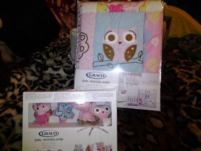 NEW in package Crib Bedding (McAllen)