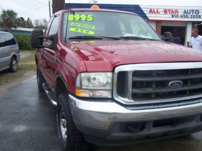 FORD F250 AUTO SUPER DUTY 4X4 EXTENDED CAB LOW MILES~REDUCED