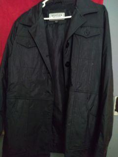 Weather Timer Leather Jacket