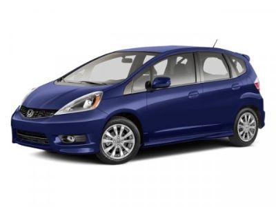 2013 Honda Fit Sport (Blue)