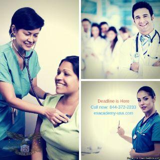 Registration Deadline! EKG, Nurse Aide, and Phlebotomy Classes!