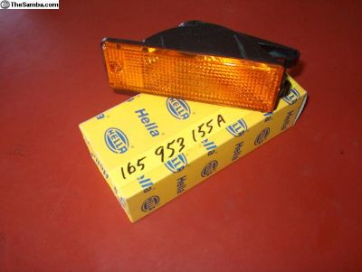 Front directional lights and lenses