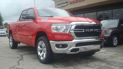 New 2019 Ram 1500 4x4 Quad Cab 6'4 Box