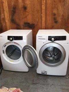 Samsung Washer and Dryer - Front Loading