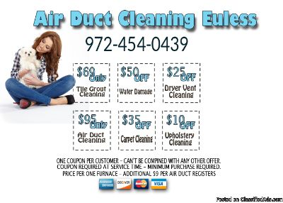 Air Duct Cleaning Euless Texas