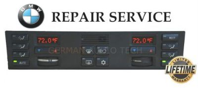 Purchase BMW 1995 1996 E38 7-SERIES 740 750 CLIMATE CONTROL DISPLAY -PIXEL REPAIR SERVICE motorcycle in Long Beach, California, United States, for US $69.99