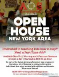 Art of Stepping Employment Open House