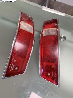 Set of 1965-68 Porsche SWB 911 912 Taillights,