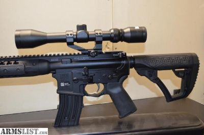 For Sale: *SALE* LWRC DI AR-15 WITH **FREE BUSHNELL 3X9 SCOPE AND SCOPE MOUNT** FREE SHIPPING!!