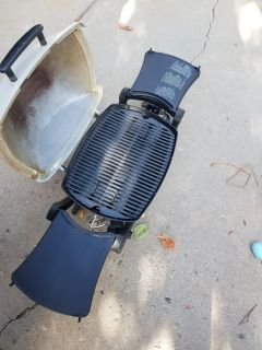 Table top Weber Gas Grill