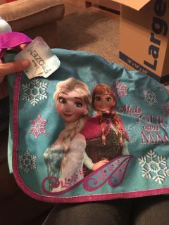 Frozen bag with tag