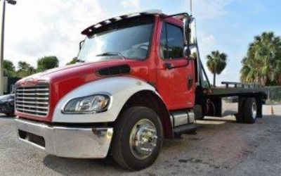 $34,999, 2006 Freightliner  FLAT BED TOW TRUCK  MERCEDES_BENZ POWERED  813-397-5200