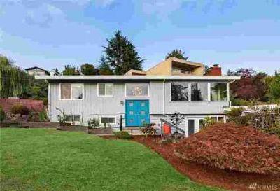 6204 NE 185th St Kenmore, Stylish Mid-Century Modern Home!
