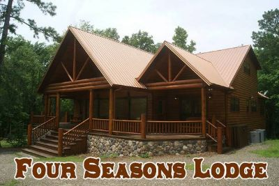 5br - Luxury Cabin Rental - Four Seasons Lodge - Sleeps 12 (Beavers Bend