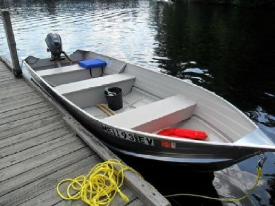 14' Aluminum Boat & Outboard
