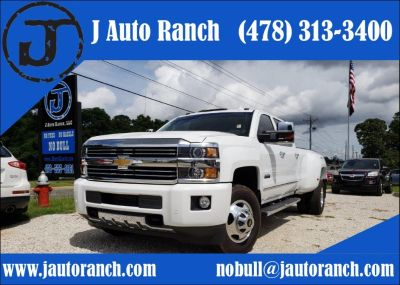 2016 Chevrolet Silverado 3500 High Country (White)