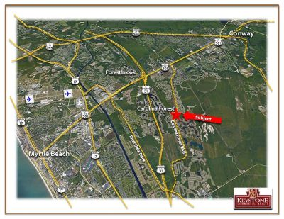 Seabreeze Lot-1 Acre Professional Park Lot-For Sale-Myrtle Beach, SC