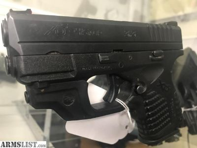 For Sale: Springfield XDS 45 with grip laser