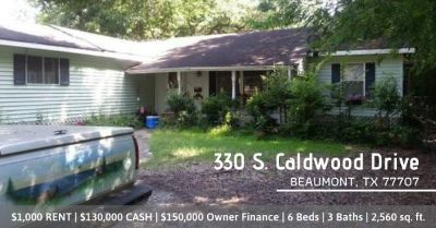 Move in to this 6 Bedroom Rental Property in Beaumont, TX!
