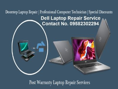 Get Dell Laptop Repair Service on your Door Step- Charges Rs.250