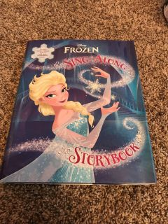 Frozen sing-along Storybook with cd