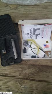 For Sale: Ruger SR9c Stainless