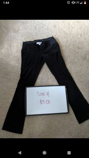 Maternity dress pants like new