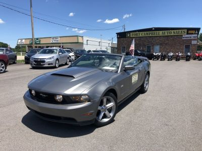 2011 FORD MUSTANG GT CONVERTIBLE V8 5.0 LITER