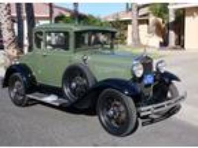 1930 Ford Model A DeLuxe California Car