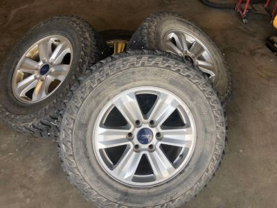 17in Ford F-150 Wheels and Tires