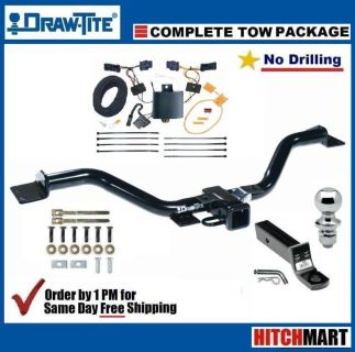 """Sell DRAW-TITE TRAILER HITCH PACKAGE FOR 2013-2014 CHEVY TRAVERSE CLASS 3, 2"""" TOW motorcycle in Rockford, Illinois, US, for US $189.78"""