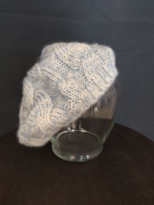 Blue French style hat