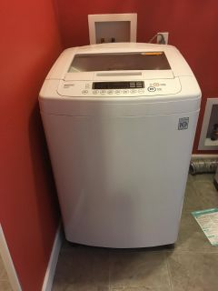 LG HE Washer and Dryer