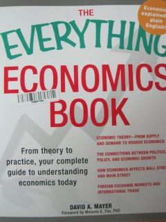 the everything economics book: from theory to pr... by mayer, david a. paperback